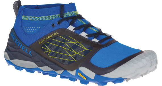 Merrell M's All Out Terra Trail Shoes BLUE/DRAGONFLY